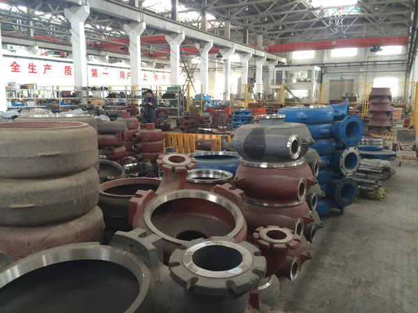 Our Slurry pump parts storage
