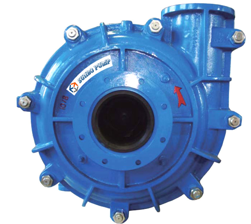 200HSR Horizontal Rubber Slurry Pump