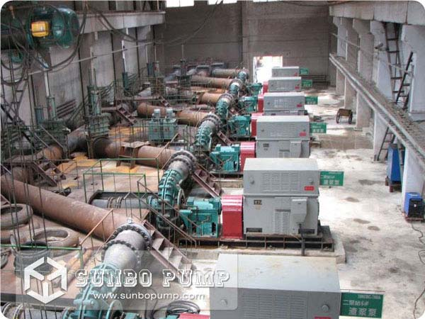 ZGB Slurry Pump in Gold Mining Minerals Handling