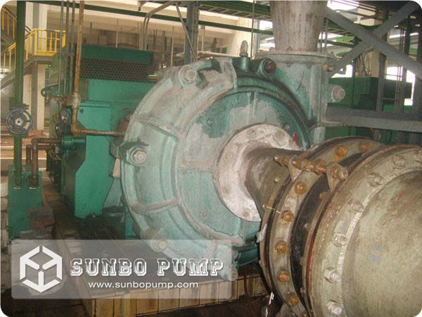 Centrifugal Slurry Pump Work in Tunisia Phosphate Factory