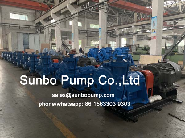 50ZJ-50 slurry pump ready ship