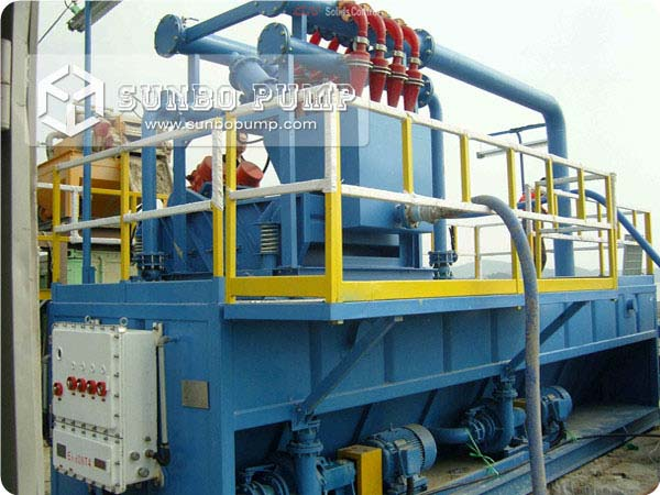Centrifugal Slurry Pump work in solid control system