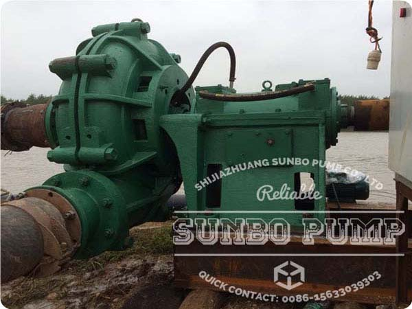 China Slurry Gravel Pump work in Dam Sludge