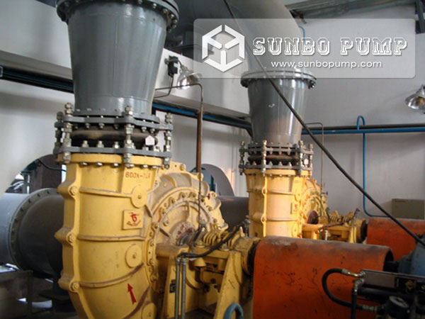 Desulphurization Pump in China Power Plant 600TL FGD Pump