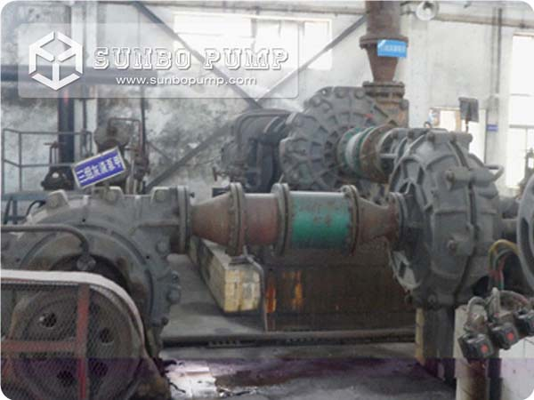 High Pressure Slurry Pump work in series