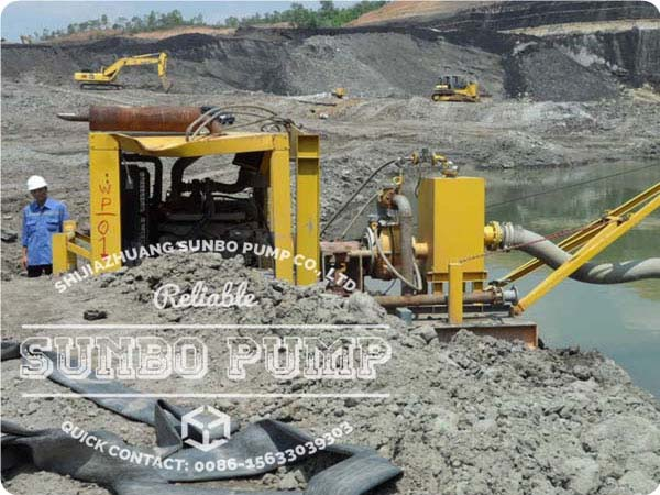 Split Casing Mining Dredge Pump In Indonesia