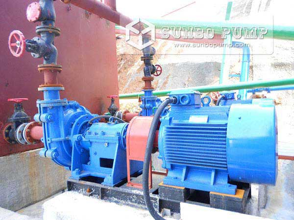 ZJ Slurry Pump in Coal Dressing Plant