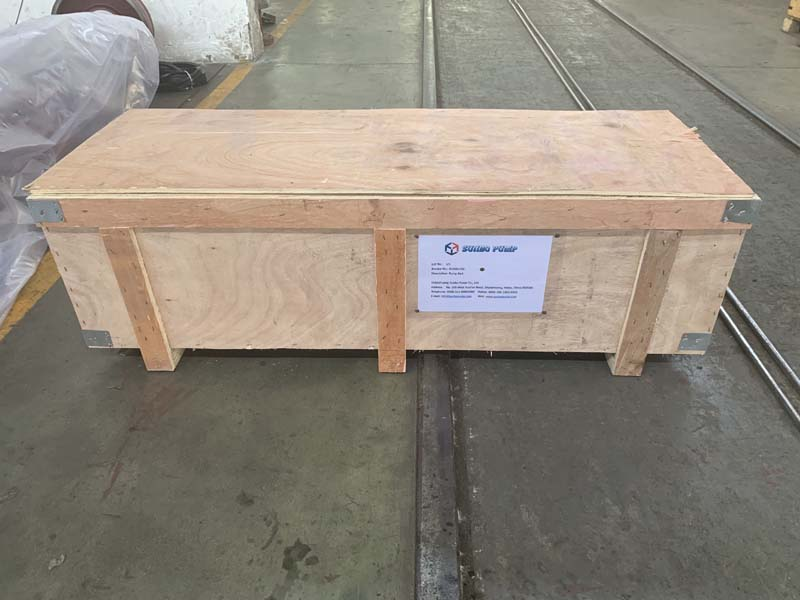 10/8F-M Bearing assembly shipped